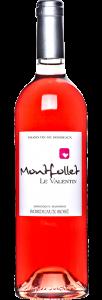 Château Montfollet Le Valentin Bordeaux rosé