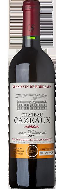 Château Cazeaux Blaye Côtes de Bordeaux